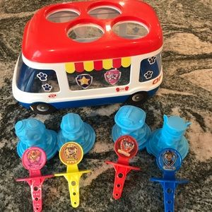 Paw Patrol popsicle maker